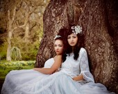Bridal, fascinator, headress, tiara, hair vine, woodland