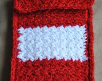 Made-to-Order, Custom Smartphone/MP3 Player/Camera Crocheted Sleeve
