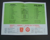 Unique 1972 FA Cup Final Soccer Programme Signed by Harold Wilson & Edward Heath 2 British Prime Ministers