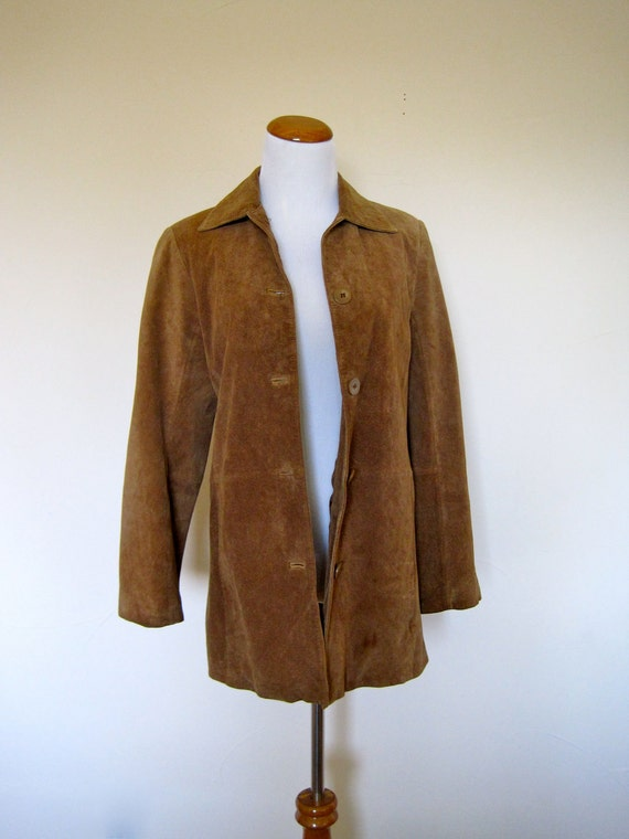 RESERVED.....70's Style Slouchy Grunge Suede Jacket
