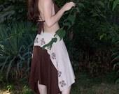 Motif Wrap Skirt