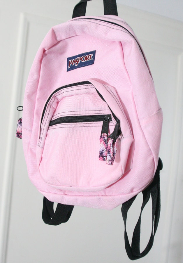 Pastel Pink Super-Mini 90s Jansport Backpack by HumanNightmare