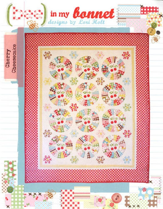 Cherry Cheesecake Pattern - by Bee in My Bonnet - BMB 205