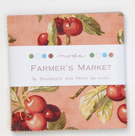 Farmer's Market - by Brannock and Patek for Moda - 1 Charm Pack - 2080PP