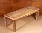 OOAK Primitive Shabby Chic Styled Table
