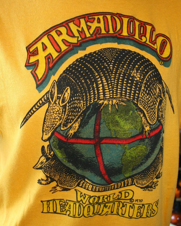 Armadillo World Headquarters T Shirt