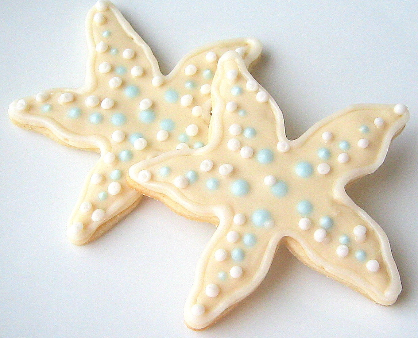 Starfish Sugar Cookies Wedding Favor Shower By SugarMeDesserterie