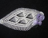 Diamond Pineapple Crochet Doily-Hand Crocheted.Exellent Quality.Welcome to my boutique.