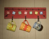 COWGIRL hanger for mugs, keys, and other stuff