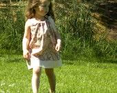 Pillowcase Dress Pink, Paisley Dress, Ready to ship, Size 2, Girls Dress, Easter Dress