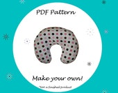 Nursing Pillow Cover for Boppy Pattern-PDF Pattern-Ebook Pattern - Instant Download