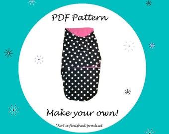 Baby Blanket Pattern-Swaddle Blanket Pattern-PDF Pattern-Ebook Pattern - Instant Download