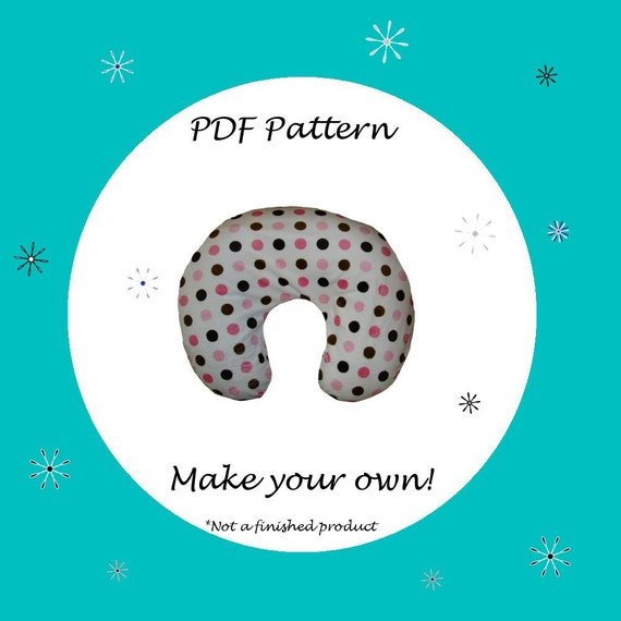 Items Similar To Nursing Pillow Cover For Boppy Pattern