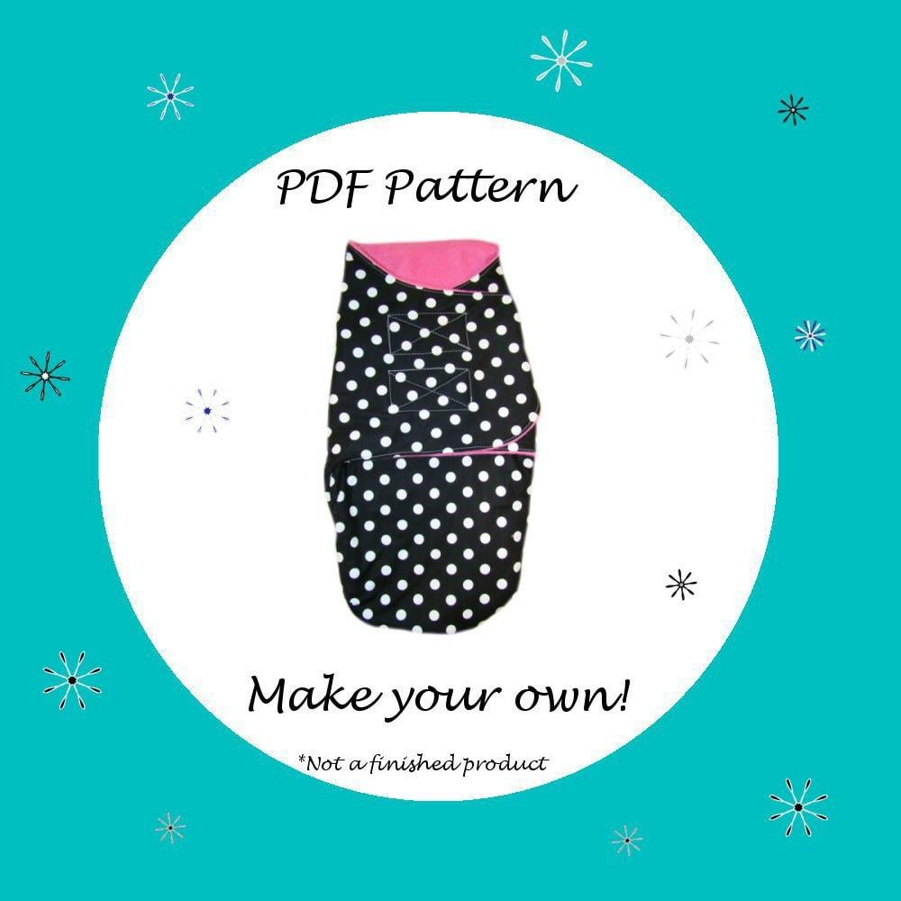Baby Blanket Pattern Swaddle Blanket Pattern Pdf Pattern Ebook