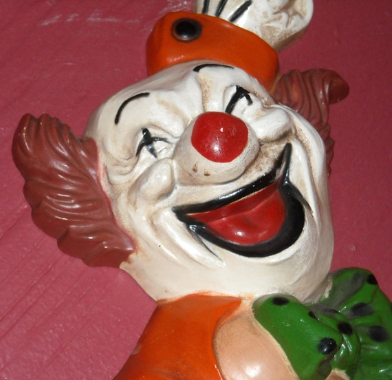 Homco Clown Wall Hangings