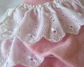 Sweet Lolita Pink Lace Trimmed Socks - Strawberry Cotton
