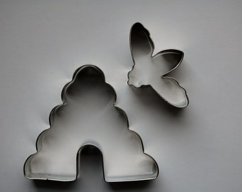 Bee and Hive Cookie Cutter