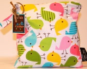 Eco-Bag Snack - Waterproof - Urban Zoologie Collection - Birds Spring