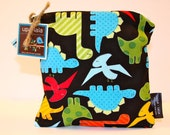 Wet Bag or Eco-Bag Small - Waterproof - Urban Zoologie Collection - Dinos