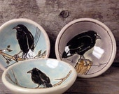 Set of 3 Raven Soycers