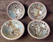 Set of 4 Tree Soycers
