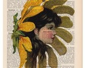 Repurposed Book Upcycled Re-Loved Art Vintage Print Recycled Vintage Encyclopedia Page Buy 2 Get 1 FREE