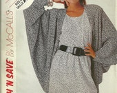 Misses'  Dress and Jacket Pattern McCalls 3562 Size10 12 14
