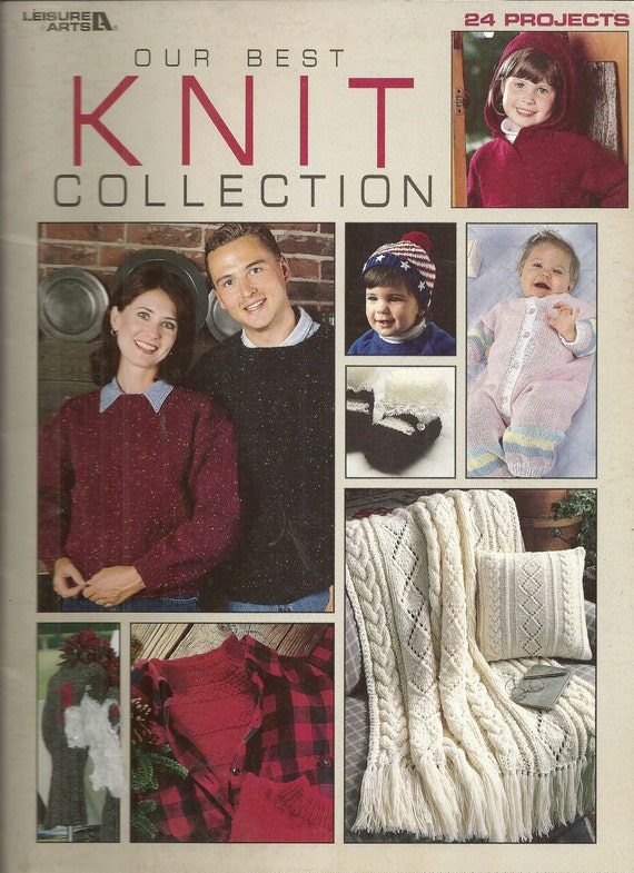 Our Best Knit Collection Leisure Arts 24 Projects