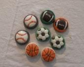 Custom listing for Tiffany University of Miami Football Themed Chocolate covered Oreos - 2 Dozen