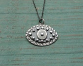Silver Protective Eye Pendant