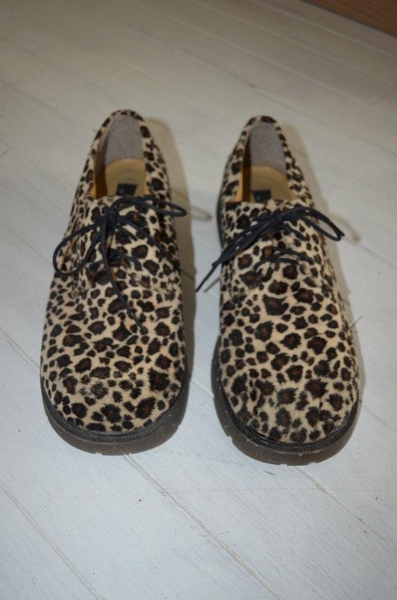 Leopard Platform Shoes