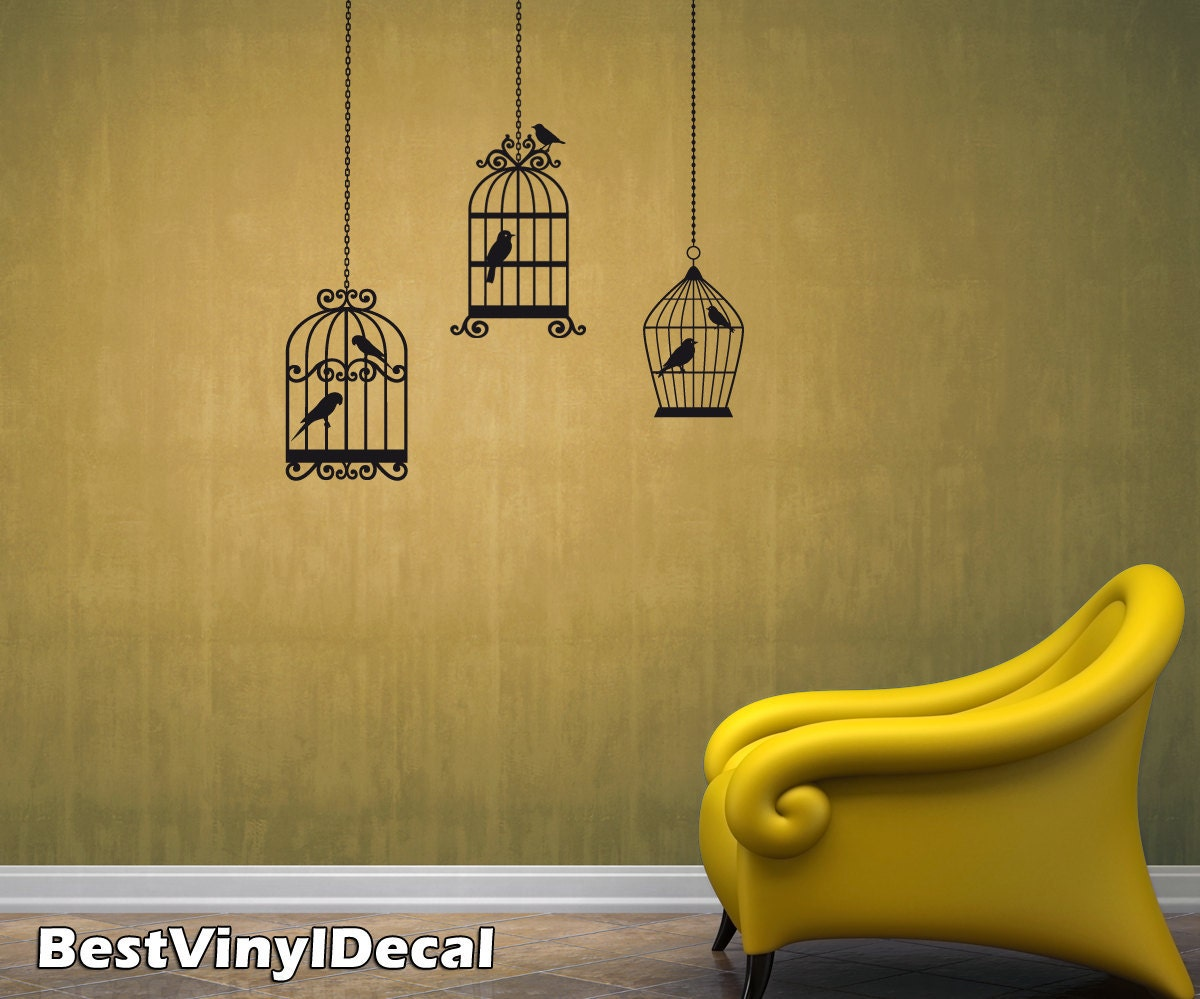 Lovely Bird Cage Wall Art Pictures Inspiration - The Wall Art ...