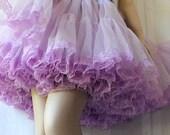 Vintage Petticoat / Rockabilly Swing / Lilac Crinoline / Circle Skirt / Square Dance / by Sam's