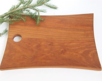 "Cutting Board, Chopping Board, Bread Board Wood made form Vermont Cherry  12"" x 8 1/2"""