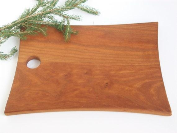 "Cutting Board, Chopping Board, Bread Board Wood made form Vermont Cherry  12"" x 8 1/2"""