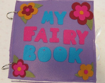 PDF - Fairy Busy Book / Quiet Book Pattern