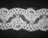 Off White/Ivory Alencon Lace