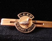 FAMOUS PEABODY HOTEL Tie Clip Memphis Tn Souvenir Collectable Duck Walk By Mississippi Delta Treasures