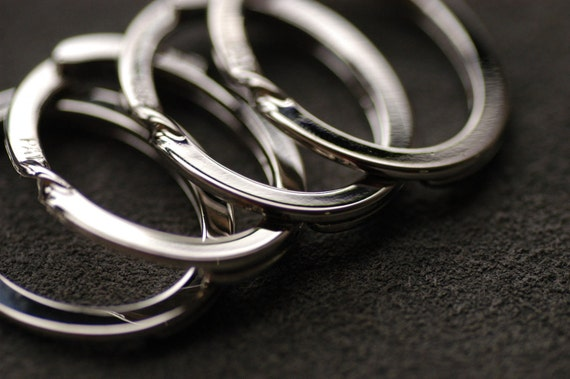 "High quality key ring 1.33""  4 Pcs"