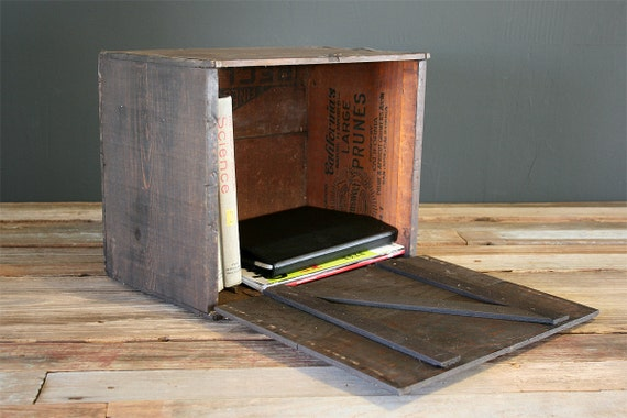 Wooden Fruit Crate Box
