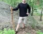 Hiking Stick - Bamboo Ocarina Staff Flute  - LARGE