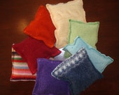 Wool Beanbags (Set of 8)