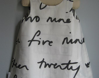 Girls Graphic  Dress- Girls Sizes 3M to 18M.