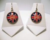 London - UK Flag Charm Earrings