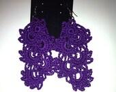Crochet  Cascade earrings