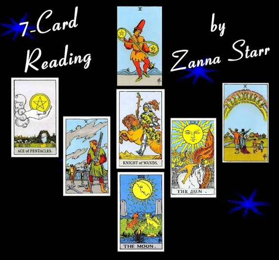 7 to 9 card Tarot or Oracle Reading Written Report