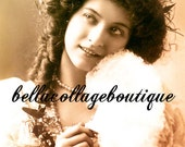 Digital Download Maude Fealy Vintage Actress Card for ATC ACEO Tinted Collage Mixed Media Print