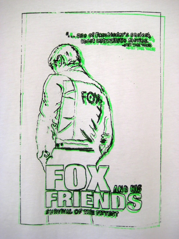 Fassbinder - Fox and His Friends - T-shirt - Rainer Werner Fassbinder - Queer Cinema - Queer Icon