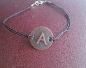 Personalized Inital Bracelet with FREE SHIPPING