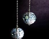 FREE SHIPPING Vanessa Disco Ball earrings, in Loving Memory